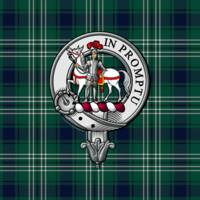 Trotter Scottish Clan Badge and Tartan