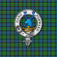 Stirling Scottish Clan Badge and Tartan