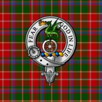 Somerville Scottish Clan Badge and Tartan