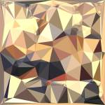 """Bisque Gray Abstract Low Polygon Background"" by patrimonio"