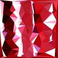 Barn Red Abstract Low Polygon Background