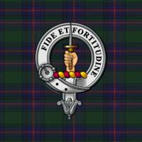 Shaw Clan badge and Tartan