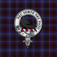 Rutherford Scottish Clan Badge and Tartan