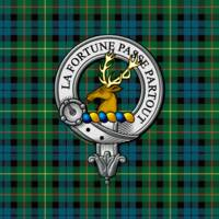 Rollo Clan Badge and Tartan