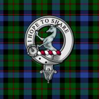 Riddell Clan Badge and Tartan