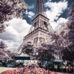 """Eiffel tower in infrared"" by lightbehaviour"