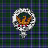 Wishart Clan Badge and Tartan