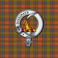 Scrymgeour Clan Badge and Tartan