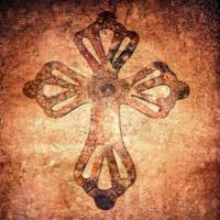 Decorative Antique Cross A39816