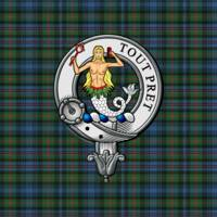 Murray Atholl Scottish Clan Badge and Tartan