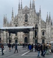 Milano Duomo Cathedral front view