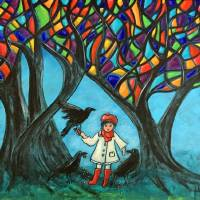 Autumn Treasures Art Prints & Posters by Juli Cady Ryan