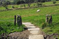 Ancient Stone Gate Posts, Upper Booth