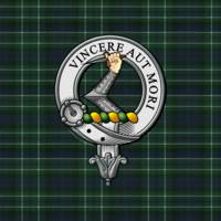 MacNeil Colonsay Scottish Clan Badge and Tartan