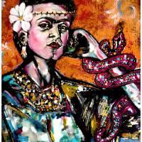 Frida Art Prints & Posters by Jesus James Ruiz