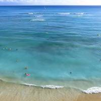 Waikiki Beach Art Prints & Posters by Joel Carlson