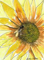 Honey-Bee-Watercolor