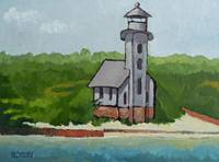 Clapboard Lighthouse