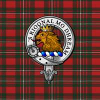 MacGregor Scottish Clan Badge and Tartan