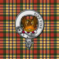 MacGill Scottish Clan Badge and Tartan
