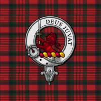 MacDuff Scottish Clan Badge and Tartan