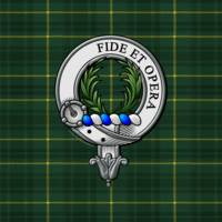 MacArthur Scottish Clan Badge and Tartan