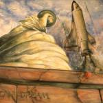 """American Dream - Watercolor Painting"" by Art-America"
