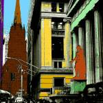 """Wall Street 90 - New York Pop Art"" by Art-America"
