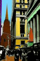 Wall Street 90 - New York Pop Art