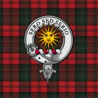 Kerr Scottish Clan Badge and Tartan