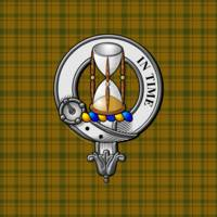 Houston Scottish Clan Badge and Tartan