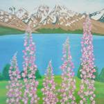 """Fireweeds in Alaska"" by AlinaDeutsch"