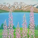 """Fireweeds in Alaska"" by AlinaDeutsch"