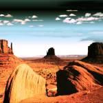 """Monument Valley Magic - Digital Art"" by Art-America"