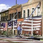 """Virginia City Facades - Painting Art"" by Art-America"