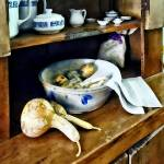 """Butternut Squash in Kitchen"" by susansartgallery"