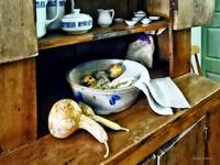 Butternut Squash in Kitchen