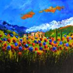 """Poppies in tuscany"" by pol"