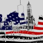 """Fourth Of July New York - Drawing Art"" by Art-America"