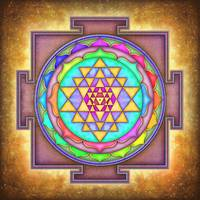 Sri Yantra 7 - Variation No. 3