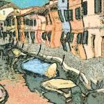 """Burano Canal - Modern Art"" by Art-America"