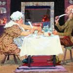 """Jack Sprat Mother Goose Nursery Rhyme"" by mariancates"