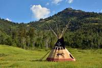 Native American Teepee