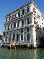 Italy - Venice - Building on a Canal - 886