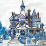 Bradbury Mansion Los Angeles California by RD Riccoboni