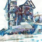 """Hildreth Mansion Los Angeles"" by RDRiccoboni"