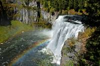 Waterfall and Rainbow_2597