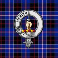 Dunlop Scottish Clan Badge and Tartan