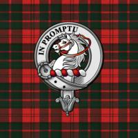 Dunbar Scottish Clan Badge and Tartan