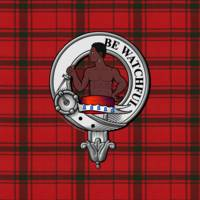 Darroch Scottish Clan Badge and Tartan
